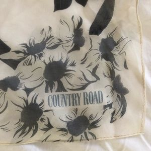 Country Road Accessories - Country Road Silk Scarf